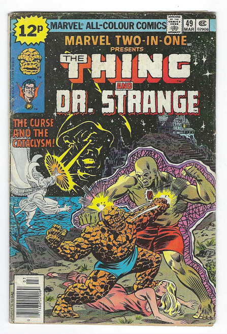 Marvel Two In One #49: The Thing And Dr Strange - 1979 - Marvel Comic - FR