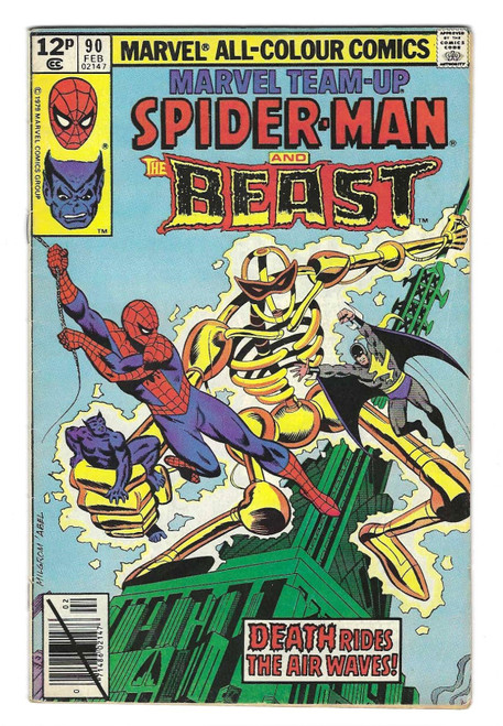 Marvel Team-Up: Spider-Man And The Beast - 1980 - Marvel Comic - VG