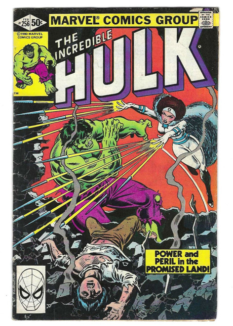 The Incredible Hulk #256 - First Appearance Of Sabra - 1981 - Marvel Comic - GD
