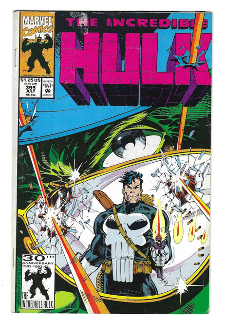 The Incredible Hulk #395 - 1992 - Marvel Comic - FR