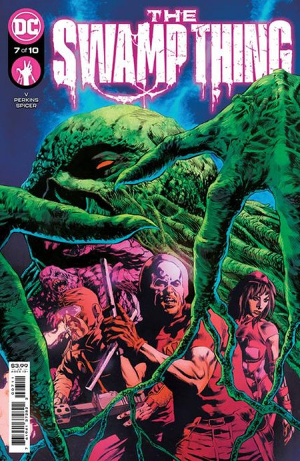 The Swamp Thing #7 - 07/09/21 - DC Comic