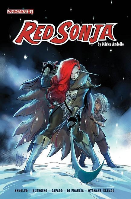 Red Sonja #1 - 01/09/21 - Dynamite Comic