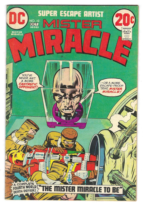Mister Miracle #10 - 1972 - DC Comic - GD