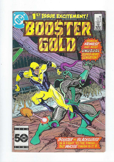 Booster Gold #1 - First Appearance Of Booster Gold and Skeets - 1986 - DC Comic - GD