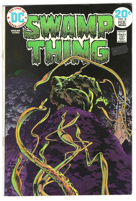 Swamp Thing #8 - First Appearance of M'nagalah - 1974 - DC Comic - GD