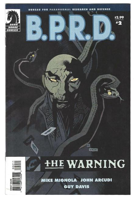B.P.R.D: The Warning #2 - 2008 - Dark Horse Comic - VG