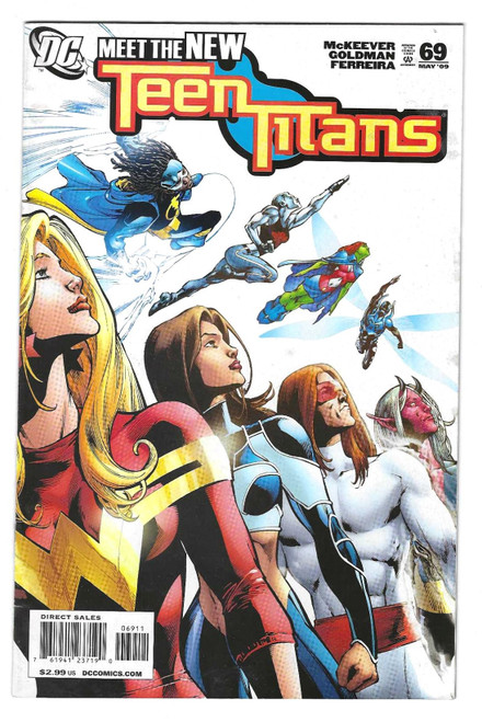Teen Titans #69 - 2009 - DC Comic - VG