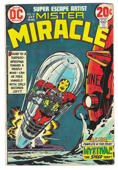 Mister Miracle #12 - 1973 - DC Comic - FR