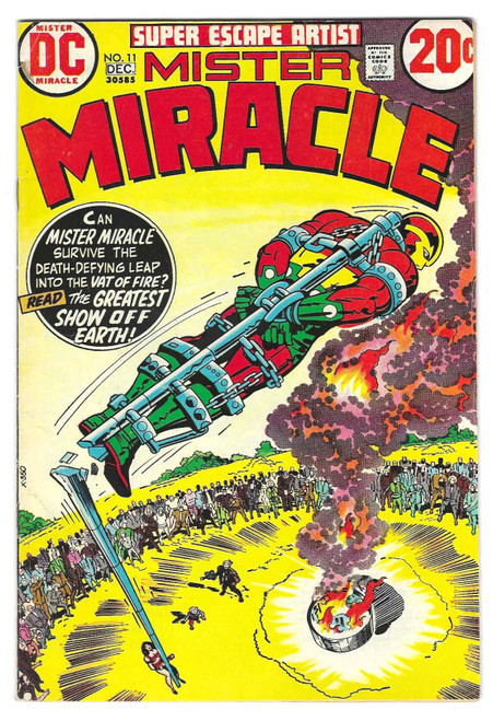Mister Miracle #11 - 1972 - DC Comic - VG