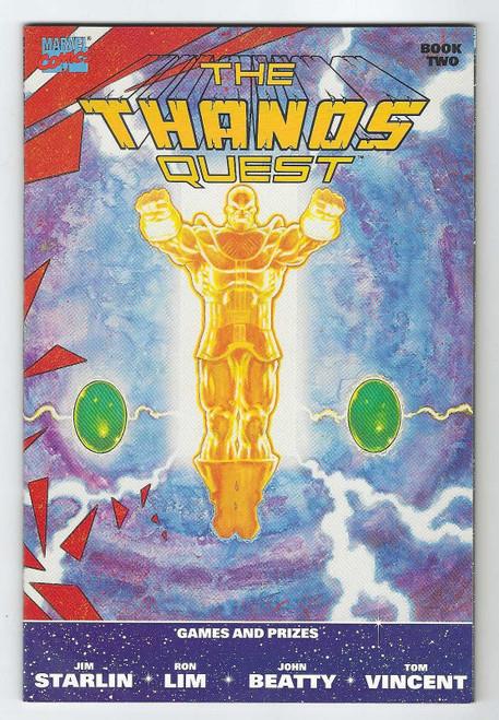 Thanos Quest: Book 2 - 1990 - Marvel Comic - VG