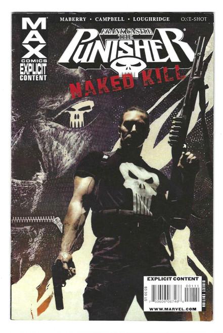 Punisher MAX: Naked Kill #1 - 2009 - Marvel Comic - VG