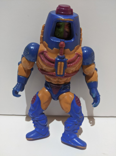 Masters Of The Universe Man-E Faces Action Figure - 1982 - Mattel - VG