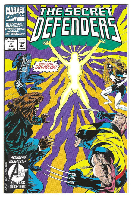 Secret Defenders #2 - 1993 - Marvel Comic - VG