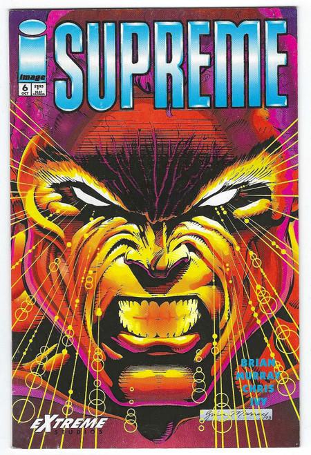 Supreme #6 - 1993 - Image Comic - VG
