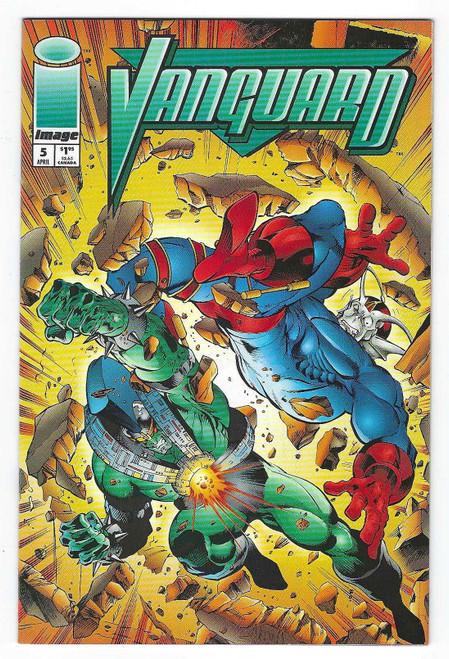 Vanguard #5 - 1994 - Image Comic - FN