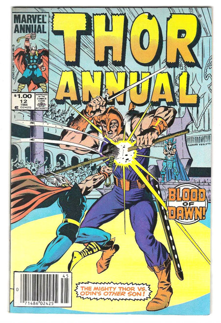 Thor Annual #12 - 1984 - Marvel Comic - VG