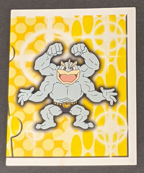 Machamp Pokemon Sticker - 1999 - Merlin