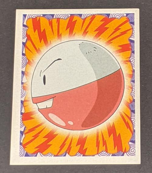 Electrode Pokemon Sticker - 1999 - Merlin