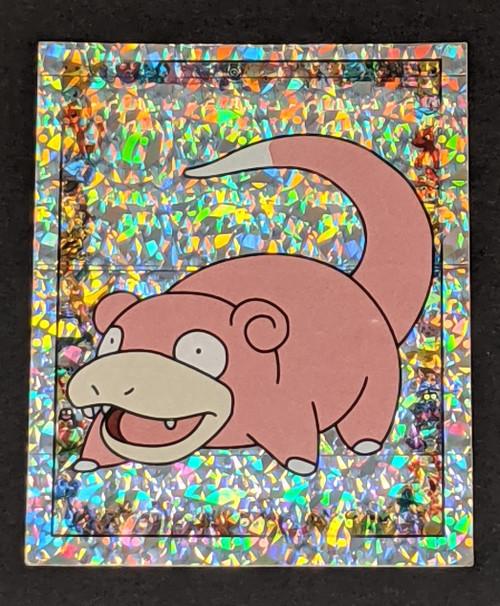 Slowpoke Holo Pokemon Sticker - 1999 - Merlin