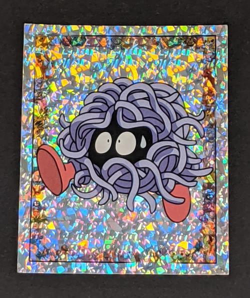 Tangela Holo Pokemon Sticker - 1999 - Merlin