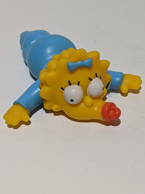The Simpsons Vintage Burger King Simpsons Collection - Maggie Simpson - 2001 - Burger King - VG
