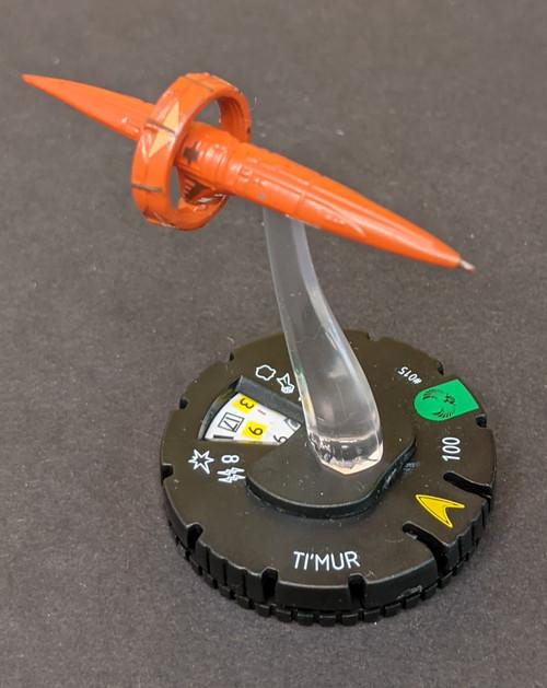 Star Trek T'Mur Figure - 2013 - Heroclix - VG