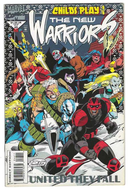 New Warriors #46 - 1994 - Marvel Comic - VG