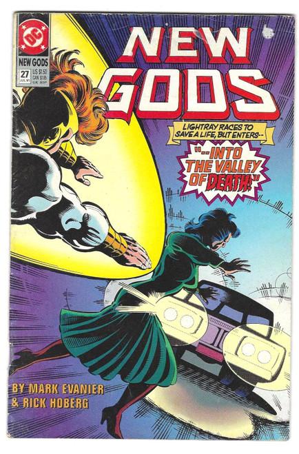 New Gods #27 - 1991 - DC Comic - GD