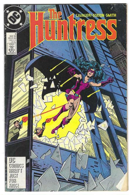 The Huntress #2 - 1989 - DC Comic - GD