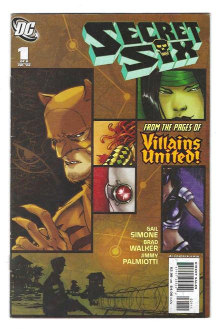 Secret Six #1 - 2006 - DC Comic - GD