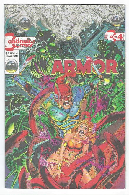 Armour #4 - 1993 - Continuity Comic - VG