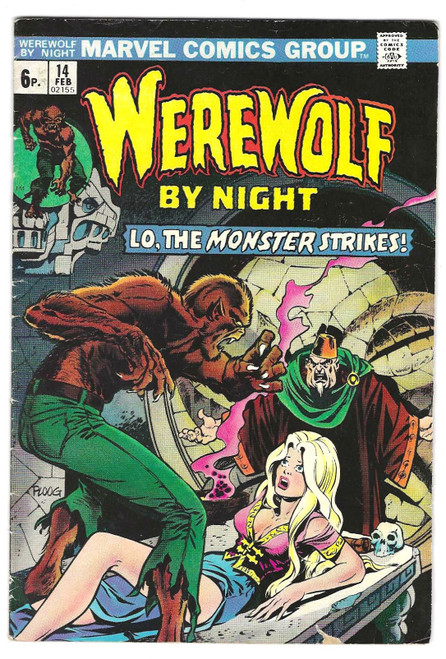 Werewolf By Night #6 - 1975 - Marvel Comic - GD