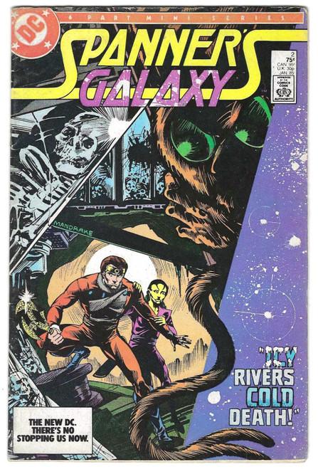 Spanners Galaxy #2 - 1985 - DC Comic - GD