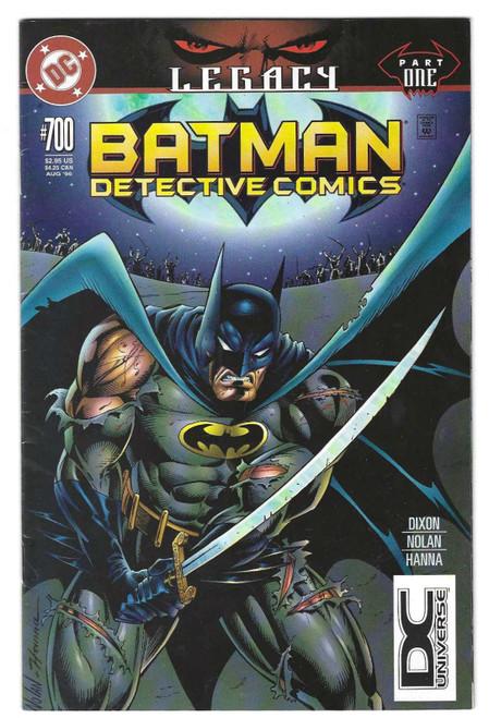 Batman Detective Comics #700 - Legacy Part One - Variant Cover - 1996 - DC Comic - VG