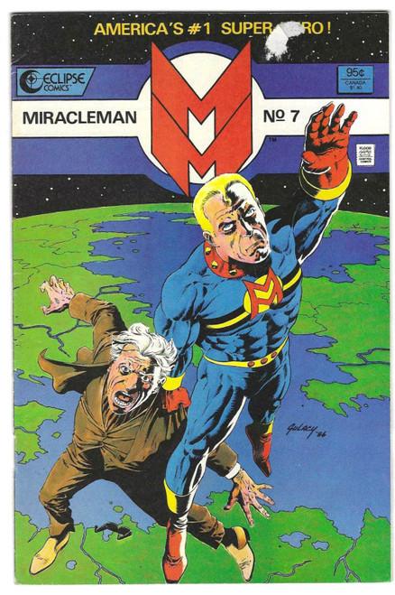 Miracleman #7 - 1986 - DC Comic - VG