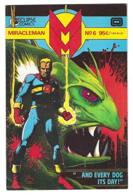 Miracleman #6 - 1986 - DC Comic - VG