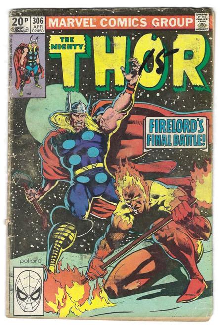 The Mighty Thor #306 - 1981 - Marvel Comic - PR