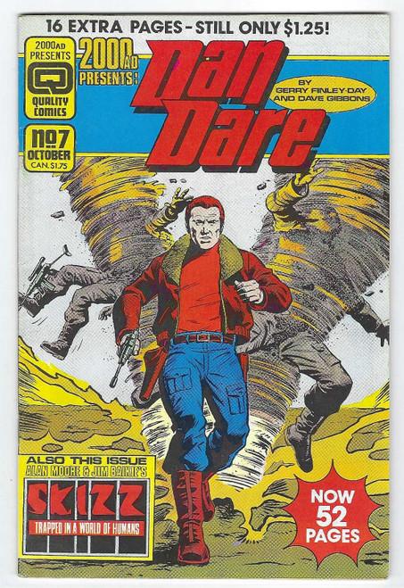 2000 AD Presents: Dan Dare #7 - 1986 - Quality Comic - VG