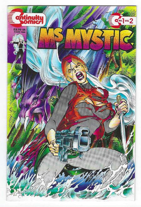 Ms Mystic #1 - 1993 - Continuity Comic - FN