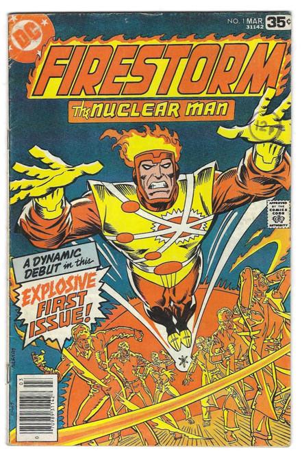 Firestorm The Nuclear Man #1 - 1978 - DC Comic - GD