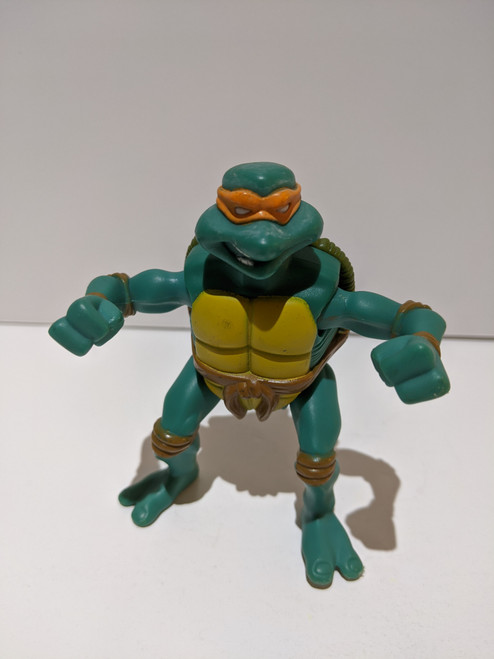 Teenage Mutant Ninja Turtles Michelangelo Figure - 2005 - Mirage - VG