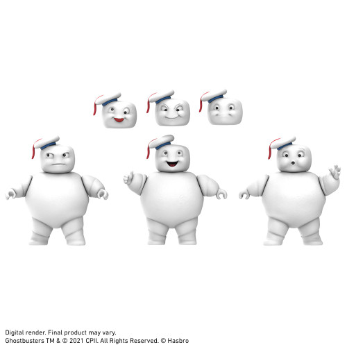Ghostbusters Afterlife - Plasma Series 3.5 Inch Mini Pufts 3-Pack - 2021 - Hasbro
