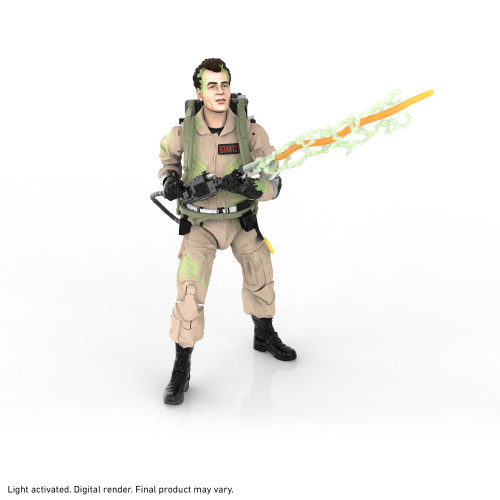 """Ghostbusters Afterlife - Plasma Series Glow-In-The-Dark Ray Stantz 6"""" Action Figure - 2022 - Hasbro"""