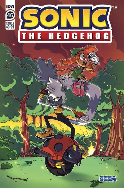 Sonic The Hedgehog #46 - 27/10/21 - IDW Comic