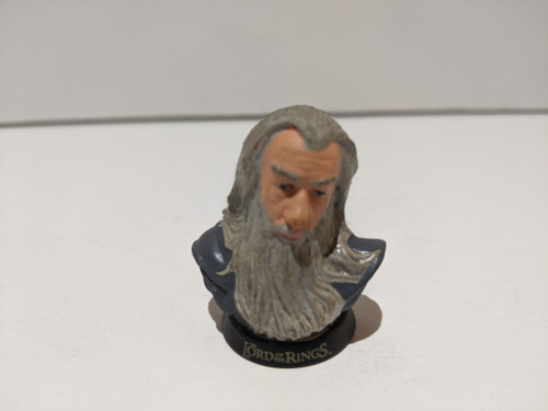 Lord Of The Rings Gandalf Painted Mini Bust - 2001 - Tomy - VG