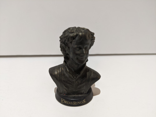 Lord Of The Rings Pippin Mini Bust - 2001 - Tomy - VG