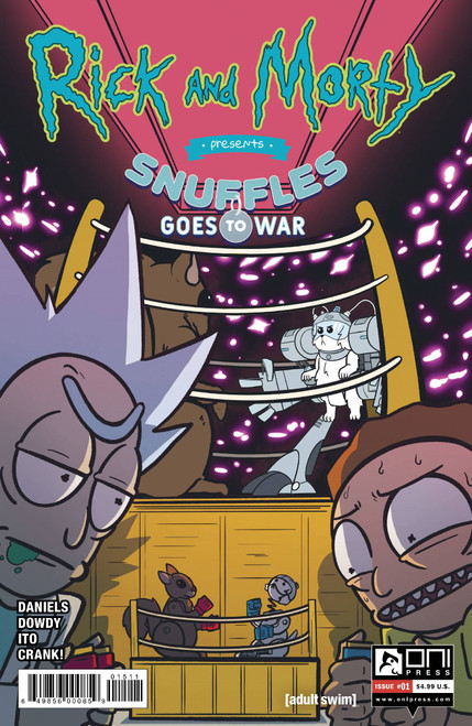 Rick And Morty Presents: Snuffles Goes To War #1 - Dowdy Cover A - 06/10/21 - Oni Press Comic