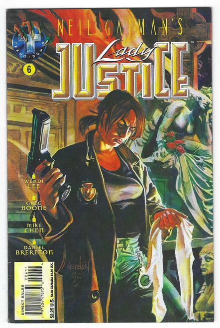 Neil Gaiman's Lady Justice #6 - 1996 - Tekno Comic - VG