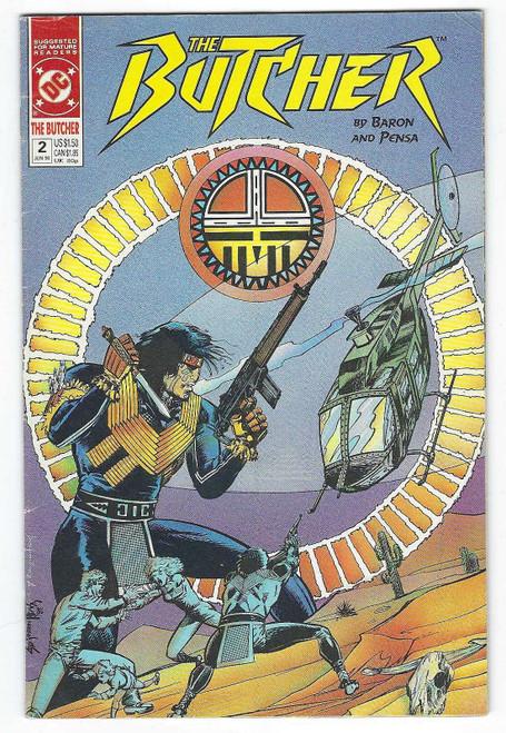 The Butcher #2 - 1990 - DC Comic - VG