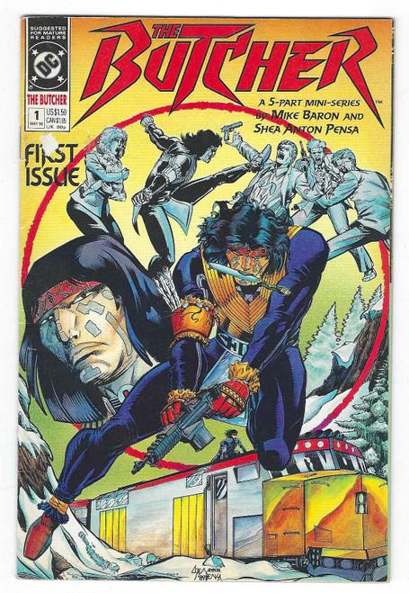 The Butcher #1 - 1990 - DC Comic - FR